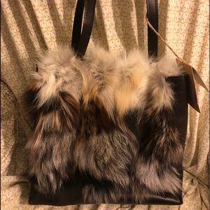Patricia Nash Toscano Tote European Fox Collection